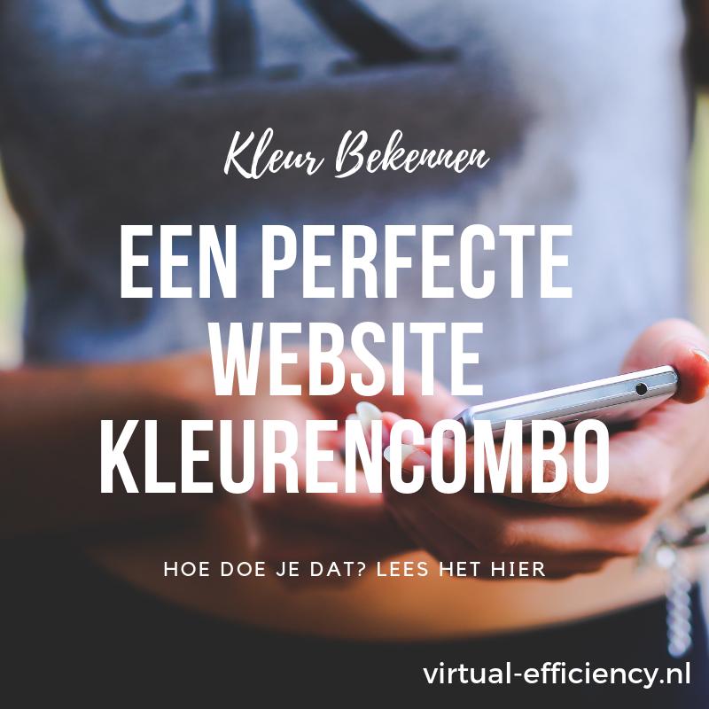een perfecte kleurencombinatie voor je website hoe doe je dat