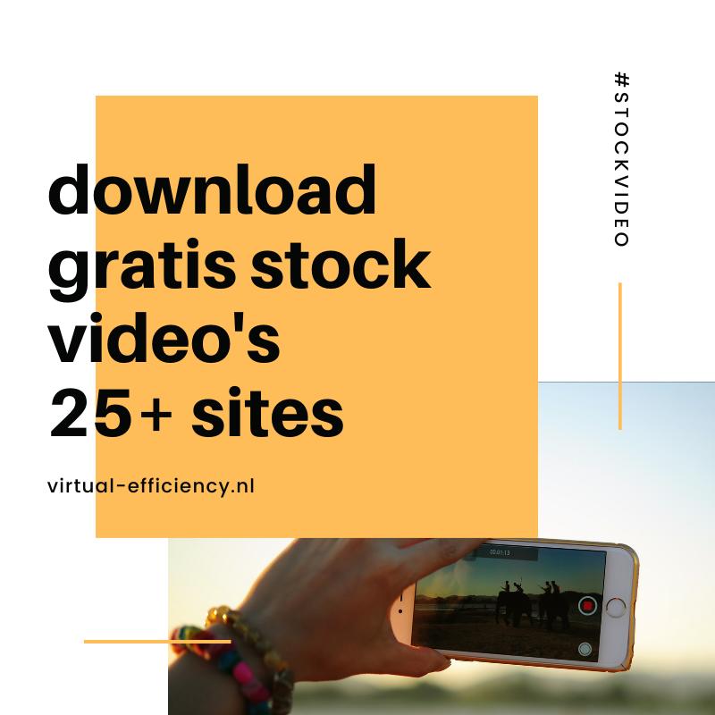 download gratis stock video's voor jouw website