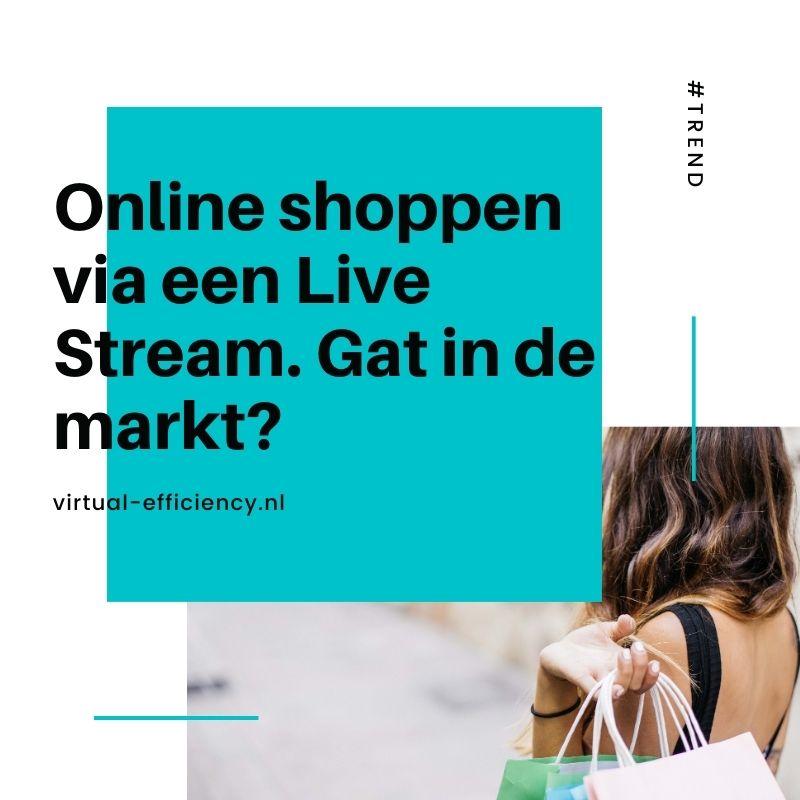 online shopping livestream
